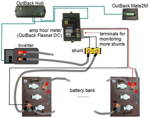 solar battery bank wiring diagram get free image about