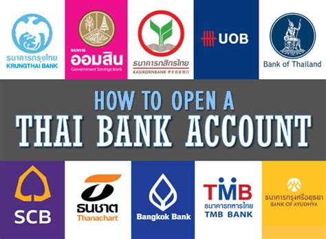 banks in thailand how to open a thai bank account tieland to thailand