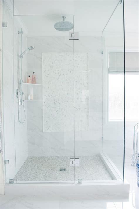 White Shower best 25 white tile shower ideas on pinterest master