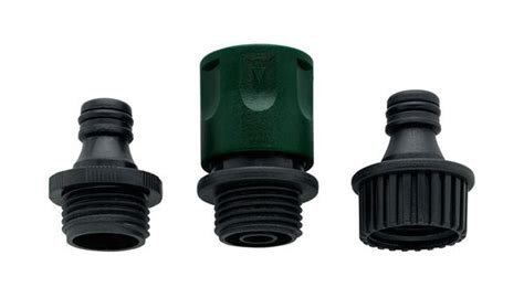 orbit plastic garden hose faucet connect set fast