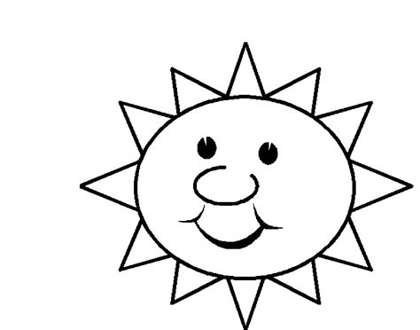 sunny weather coloring page image gallery sunny coloring