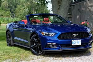 Ford Mustang Convertible Road Test 2015 Ford Mustang Convertible 187 Flagworld