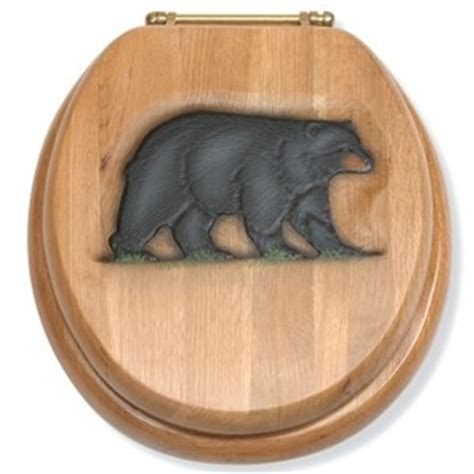 rustic oak toilet seat 784 best images about cabin accessories on