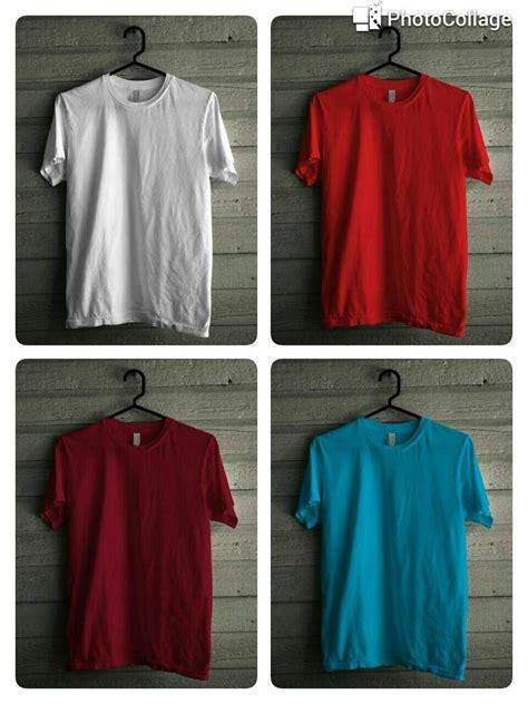 Kaos Polos Murah Bahan Cotton Combed 1 Jual Kaos Polos Cotton Combed 30s Nr Sport Jersey Murah