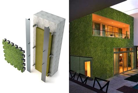 pannelli per giardini verticali tetti verdi e giardini verticali idee green per