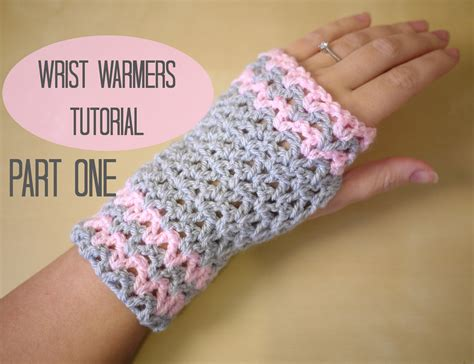 youtube tutorial how to crochet crochet wrist warmers part one bella coco youtube