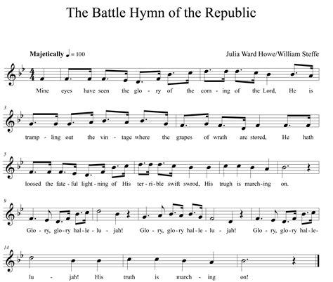 printable lyrics to battle hymn of the republic worksheet star spangled banner worksheet grass fedjp