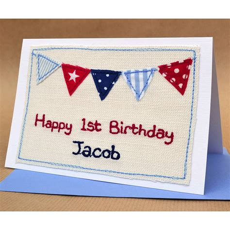 Handmade Cards For Boys - handmade personalised birthday card for boys by