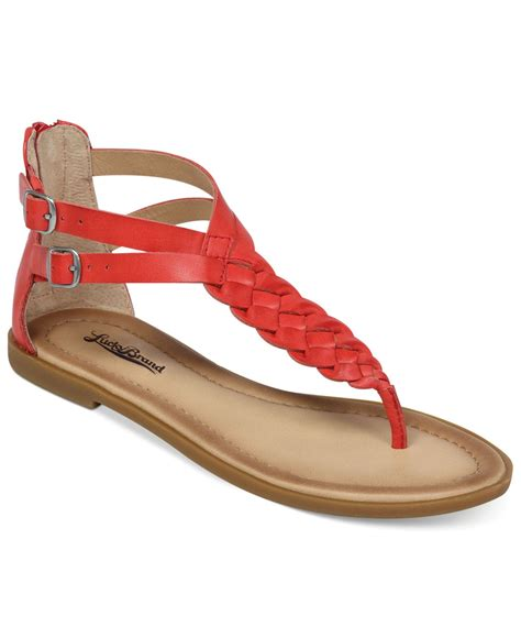 lucky brand sandals lucky brand s carrolle flat sandals in