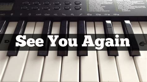 tutorial piano when i see you again see you again wiz khalifa ft charlie puth easy