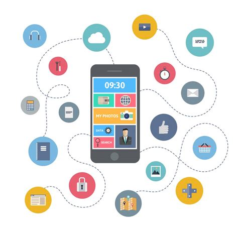 mobile application design vector 5 key to develop a social networking mobile application