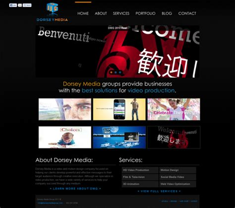 website layout theory dorsey media group website key theory web design