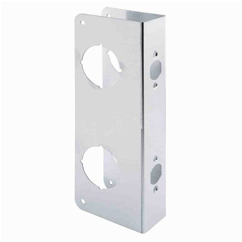 Door Knob Repair Plate by Prime Line 2 1 8 In Bore Stainless Steel Door