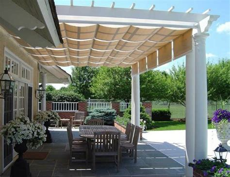 east end awning pergola with retractable awning renovation inspiration
