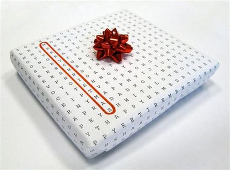 How To Make Wrapping Paper - some brilliant gift ideas