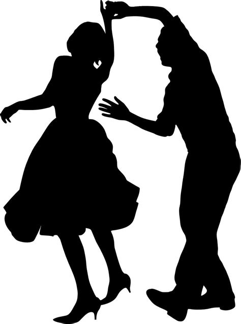 swing dance silhouette swing dance clip art clipart best