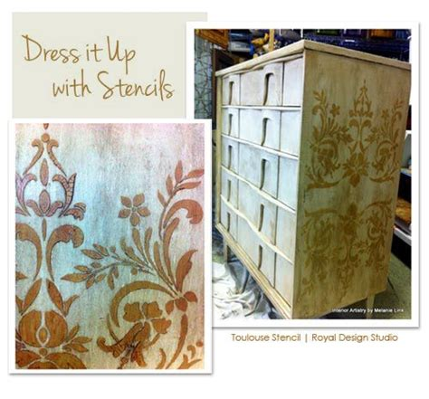 Stencils For Furniture Painting 94 Best Furniture Painting Stencils Images On