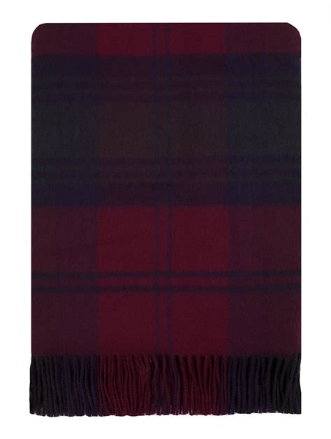 Lambswool Rugs by Lindsay Tartan Lambswool Travel Rug