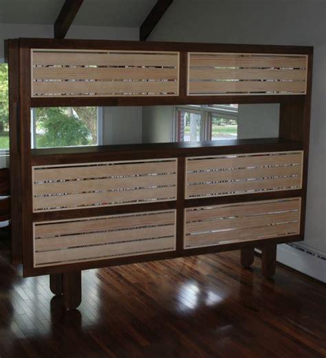 Custom Made Mondo Bookshelf Room Divider By Jason Custom Room Dividers