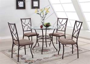 Glass Kitchen Tables And Chairs Glass Dining Table Sets Best Dining Table Ideas