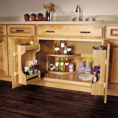 Kitchen Cabinet Storage Accessories In The Cabinet 5 Kitchen Cabinet Accessories For A Sink Base Wtop