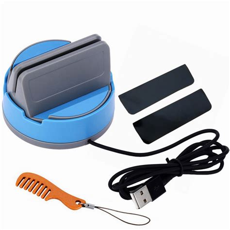 lade led per automobili micro usb handy lade dock f 252 r samsung xiaomi blau
