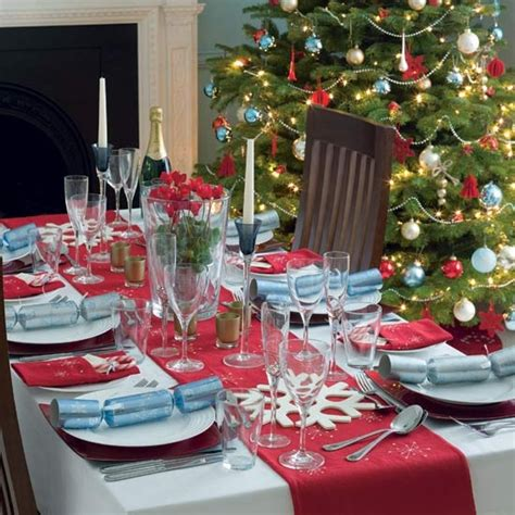 table decor ideas top 100 christmas table decorations style estate
