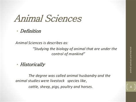 definition of animal biology internet animal sciences