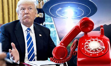 donald trump ufo ufo news why president trump s voice hotline has been