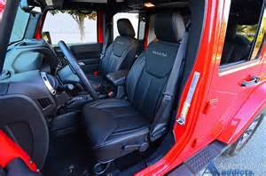 Jeep Wrangler Seats 2016 Jeep Wrangler Unlimited Review Test Drive