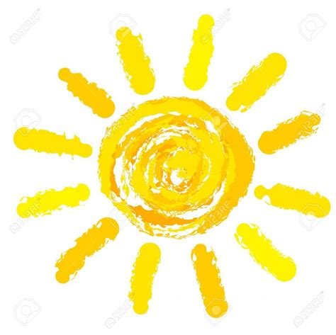 sole clipart illustration de soleil 3