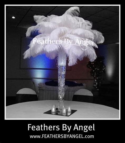 ostrich feather centerpieces rental ostrich feather centerpieces from feathers by in twinsburg oh 44087