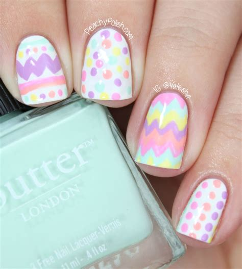 Nailart Ostern by Easter Egg Nail Peachy