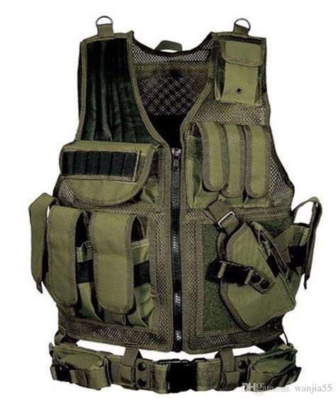 Jaket Vest Tactical Outdoor tactical vest cs field outdoor equipment ultra light