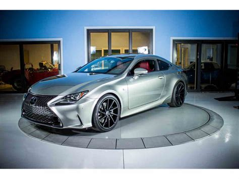lexus rc 350 f sport for sale 2016 lexus rc 350 f sport for sale classiccars com cc