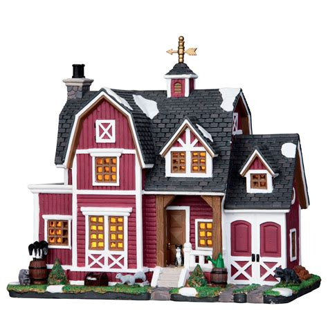 lemax village collection christmas village building barn