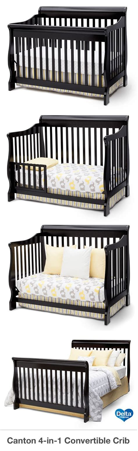 Crib Day Bed Convertible Crib Cribs And Convertible On Pinterest