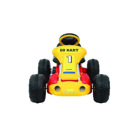 Handfat Variasi Karet Racing Yellow ride on go kart racing car 12v battery for children aged 3 7 and yellow ebay