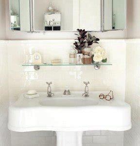 shelf above bathroom sink 8 simple storage ideas for a small family bathroom
