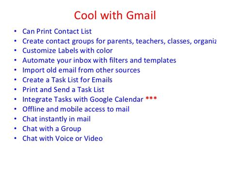 printing mailing labels from gmail contacts gmail in education means organization november 2011