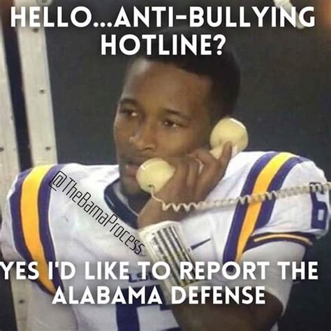 Anti Bullying Meme - best sec football memes of week 10