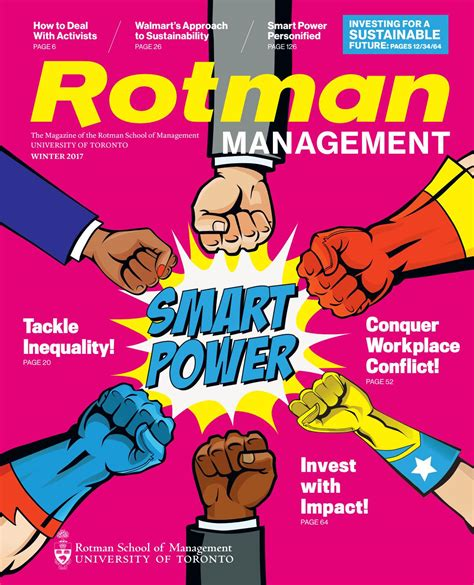 Rotman Mba Magazine by Winter 17 By Rotman School Of Management Issuu