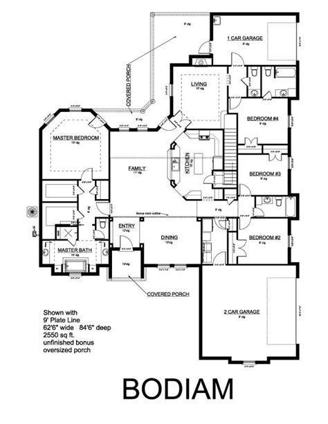 King Homes   Bodiam Plan
