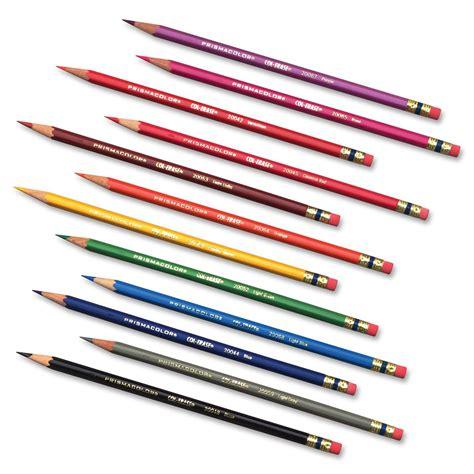 prismacolor col erase colored pencils prismacolor col erase erasable colored pencils set of 12