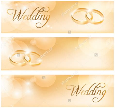 Wedding Banner Eps 19 wedding banners free psd vector ai eps format