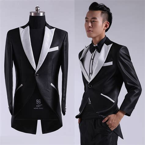 Jas Blazer Ala Korea Blazer Slimfit Lexus Black 2 buy wholesale mens dress suits from china mens