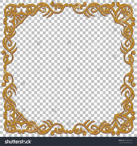 home design free gems vector border golden frame gems oriental stock vector