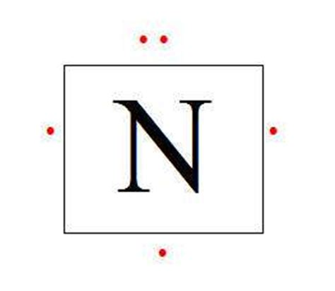 dot diagram for nitrogen gallery for gt lewis structure nitrogen