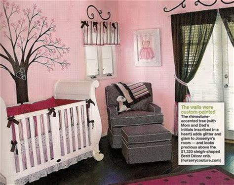 pink and brown baby room pink brown wonderland nursery design dazzle