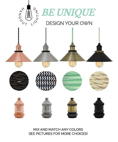 Design Your Own Pendant Light Design Your Own Shade Pendant Light Mix And Match Nickle